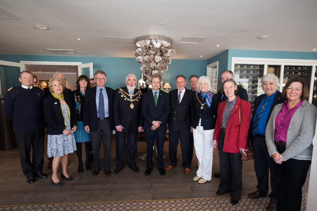Acting US Ambassador Visits Dartmouth for Mayflower 400