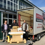 Machinery has arrived for Mayflower Model