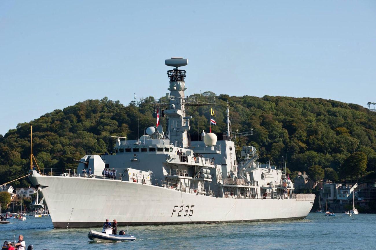 Maritime HMS Monmouth