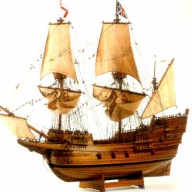 A Model of the Mayflower